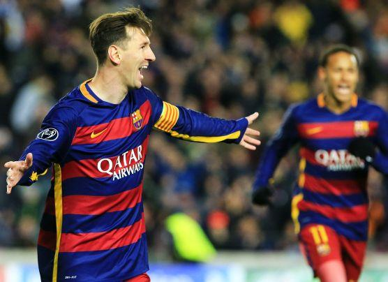 Barcelona goleó 6-1 a la Roma con doblete de Lionel Messi