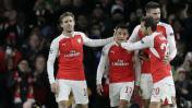 Arsenal goleó 3-0 al Dínamo y tiene chances en la Champions