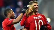 Bayern Múnich goleó 4-0 al Olympiacos y clasificó a octavos
