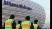 Champions League: extrema seguridad por temor a atentados