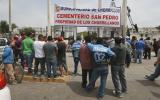 Surco: fiscalía desalojó invasores de Chorrillos de cementerio