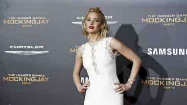 Jennifer Lawrence, la artista del momento en imágenes