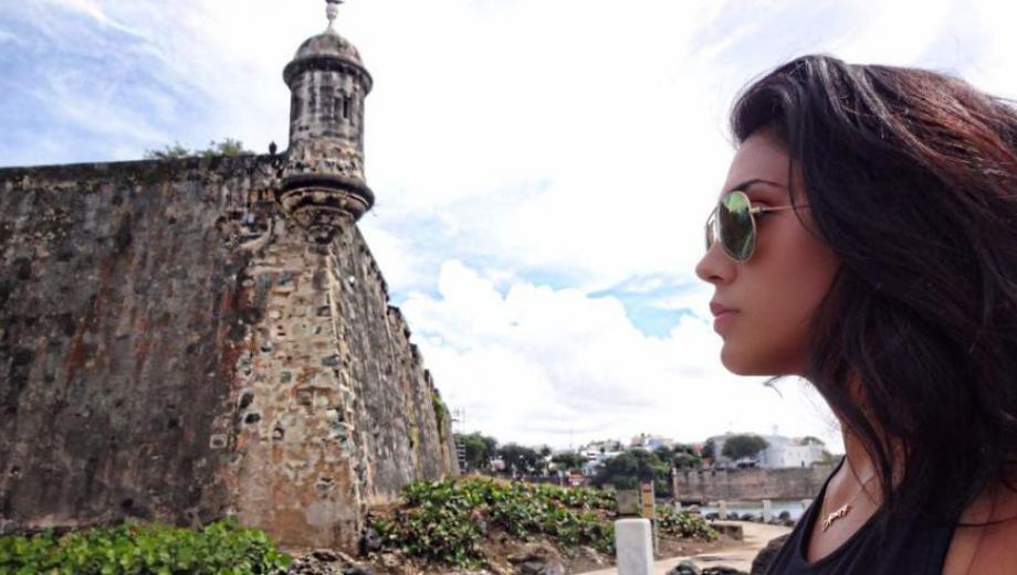 Vania Bludau: imágenes de la bella modelo en Puerto Rico