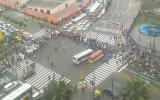Protesta de trabajadores del Poder Judicial bloqueó Av. Abancay