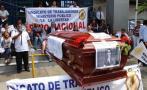 Trabajadores de la morgue de Trujillo paralizaron labores