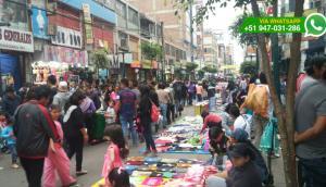 Gamarra: una bomba de tiempo por ambulantes informales (FOTOS)