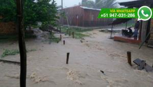 Loreto: piden alcantarillado para evitar más inundaciones