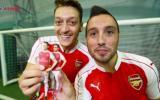 Jugadores del Arsenal presentaron sus figuras 3D [VIDEO]