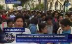 Ley Cotillo: marchan contra proyecto que favorece a rectores