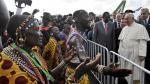 El gran recibimiento del Papa Francisco al llegar a Kenia - Noticias de vaticano