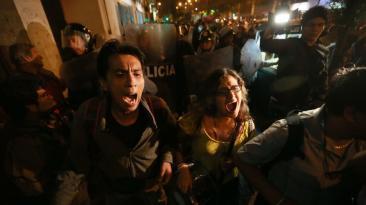 Ley Cotillo: así fue la marcha de universitarios en Lima