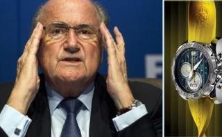 Relojes de lujo ofrecidos a dirigentes FIFA serán donados a ONG