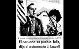 James Lovell: El hombre que comandó el Apolo 13 visitó el Perú