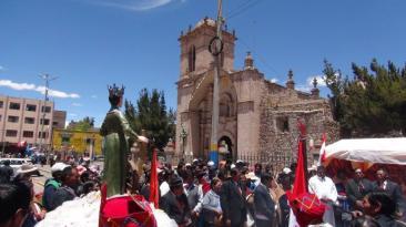 El homenaje a la patrona de los 'soldaditos de Santa Catalina'