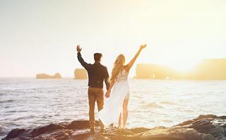 Esta pareja cambió una boda por un viaje a Islandia