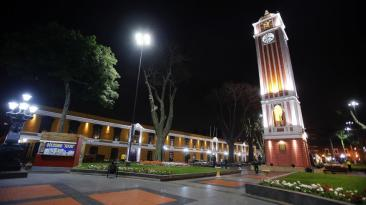 Parque Universitario fue reabierto tras dos meses y luce así