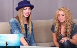 Shakira reaccionó así al ver sus antiguos videoclips [VIDEO]