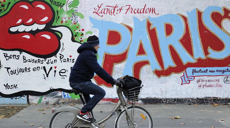 París, te amo y otros grafitis que denuncian el drama vivido