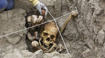 Miraflores: descubren 4 tumbas de 600 años en Huaca Pucllana