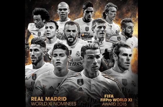 Equipo ideal FIFA: los 55 seleccionados y sus clubes (FOTOS)