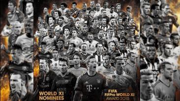 Equipo ideal FIFA: los 55 seleccionados y sus clubes [FOTOS]