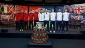 Copa Davis: Bélgica y Gran Bretaña igualan 1-1 en la final