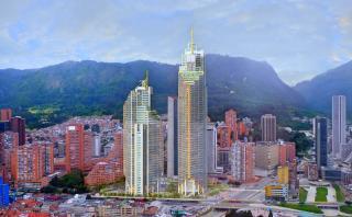 Torres Atrio destronan a Colpatria como la más alta de Bogotá