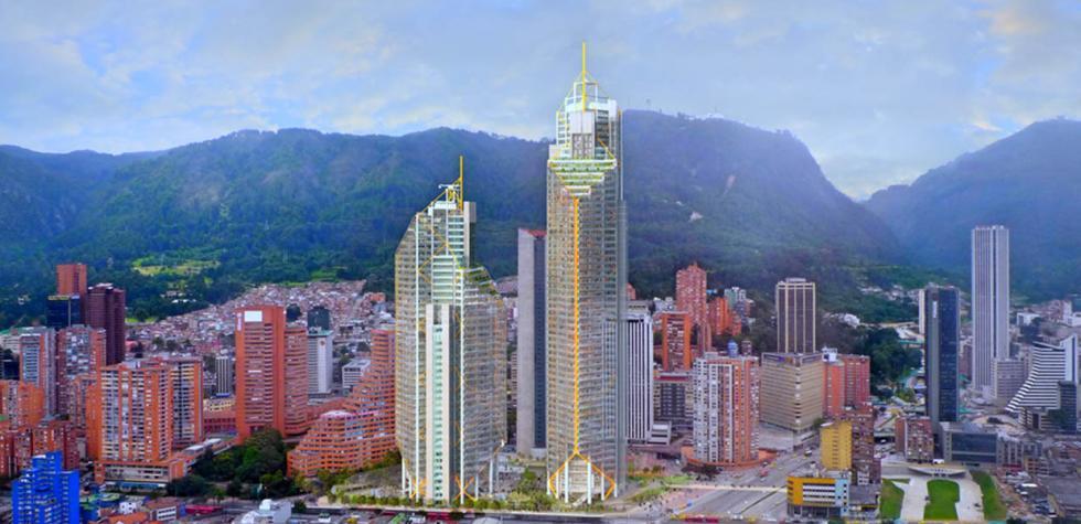 Destronan a Colpatria como la más alta de Bogotá