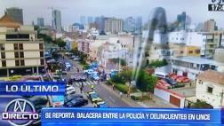 Balacera en Lince dejó dos detenidos cerca a Touring Club