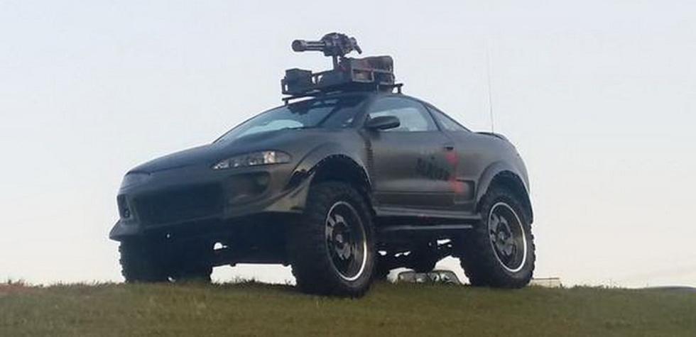 ¡Insólito! Se vende el primer auto para matar zombies