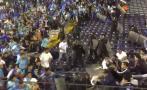 Vergonzoso: hinchas de Cristal y Alianza se pelean en tribuna