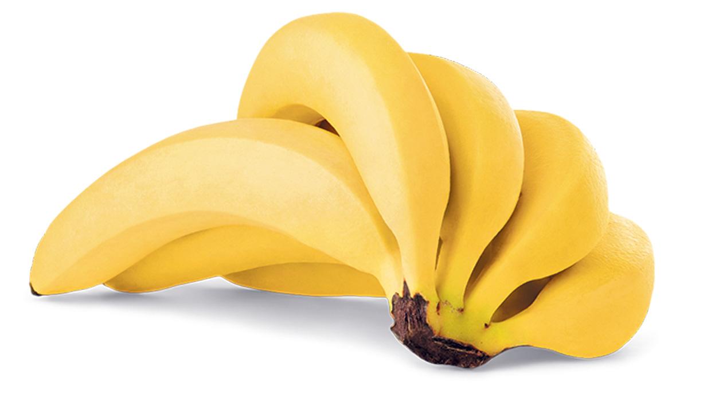 Uno de los alimentos cuyo consumo está relacionado con la concentración es el plátano.