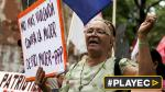 Miles marcharon para exigir fin de violencia contra las mujeres - Noticias de violencia contra la mujer