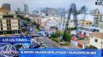 Lince: dos detenidos tras balacera cerca al Touring Club - Noticias de municipalidad de arequipa