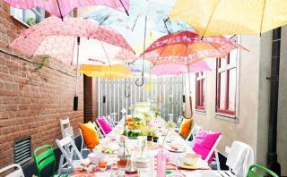 Ideas de toldos divertidos para la terraza o jardín de tu casa