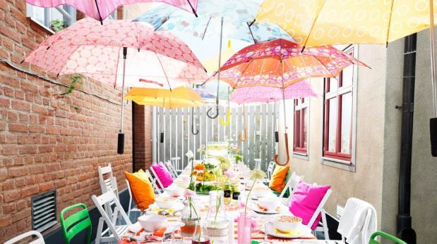 Ideas de toldos divertidos para la terraza o jard n de tu for Como decorar el patio de tu casa
