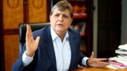 """Alan García: """"Es doloroso que postule quien golpea mujeres"""""""