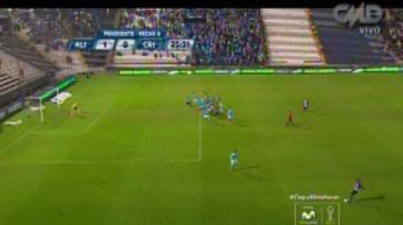 Alianza vs. Cristal: Guevgeozián marcó el 1-0 en 'off side'