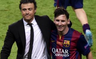 """Luis Enrique tacha de """"rumorología"""" supuestas ofertas por Messi"""