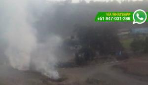 Denuncian contaminación por quema de basura en el Rímac (VIDEO)