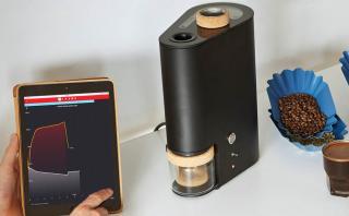 Una tostadora de café que puedes controlar desde el teléfono