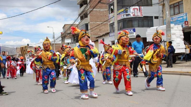 El tercer festival navideño 'Niñuchanchik 2015' es la antesala de las festividades tradicionales que se realizan cada año en Navidad, Año nuevo y Bajada de Reyes en la provincia de Andahuaylas. (Foto: Valery Cossío)