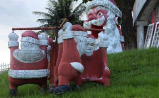 Cidade Albanoel, el parque donde la Navidad espanta