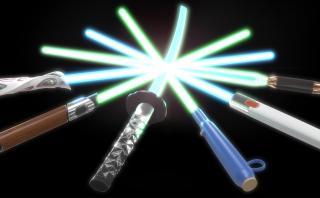 Star Wars: así serían los sables hechos por famosos diseñadores