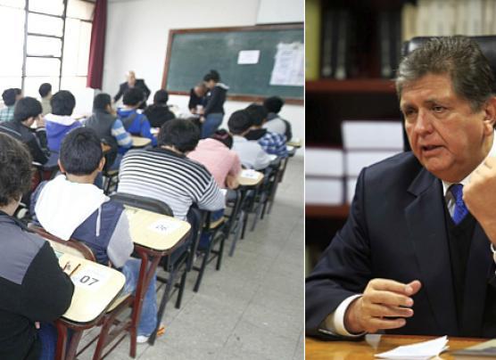 Critican a Alan García por querer desactivar la Sunedu
