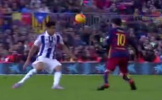 Lionel Messi y una sensacional jugada que el árbitro anuló