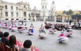 Más de 40 arequipeños bailaron el Wititi en Palacio de Gobierno