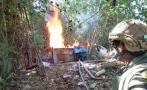 Destruyen dos laboratorios de droga en Huánuco y Ucayali