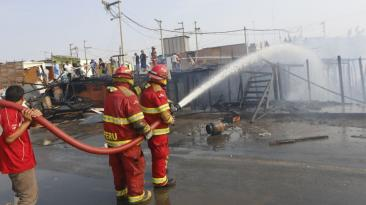 Callao: así quedó la zona de incendio en Puerto Nuevo [FOTOS]