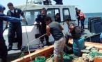 Intervienen embarcación que hacía pesca de arrastre en Paita